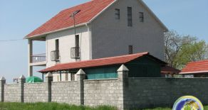 New two-storey house on the shore of the Azov sea, Berdyansk